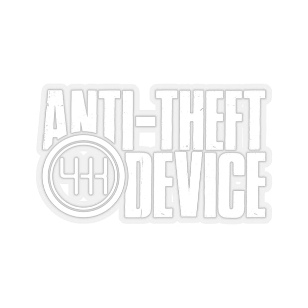 Anti-Theft Device Decal (White) - 5ohNation