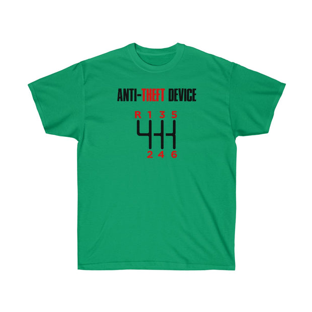 Anti Theft Device Tee (Front Design) - 5ohNation