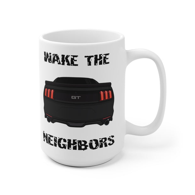 2015-17 Shadow Black Wake The Neighbors Mug (Original) - 5ohNation