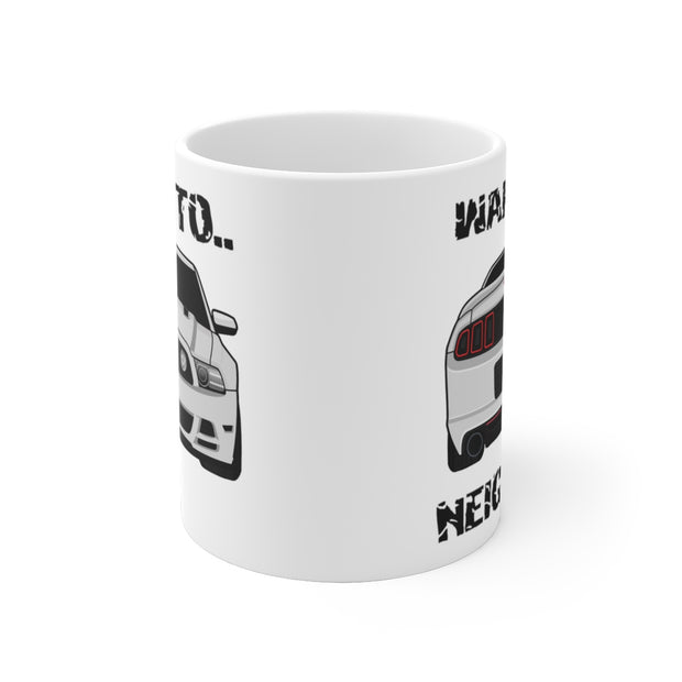 Wake The Neighbors Ingot Silver Mug (Original) - 5ohNation