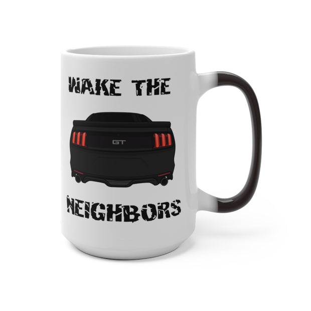 2015-17 Shadow Black Wake The Neighbors Mug (Color Changing) - 5ohNation