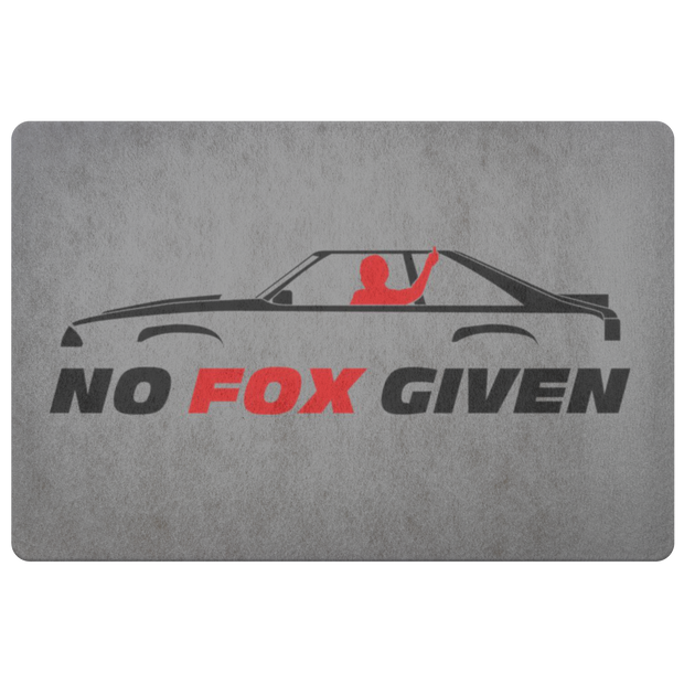 No Fox Given Hatchback Entryway Mat - 5ohNation