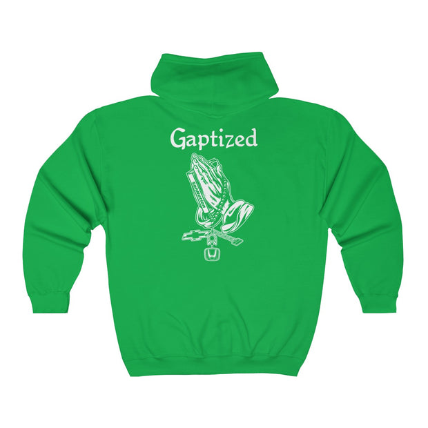 Gaptized Zip-Up Hoodie (Back Design) - 5ohNation