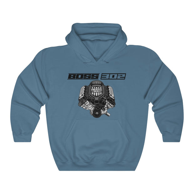 Boss 302 Pull Over Hoodie - 5ohNation