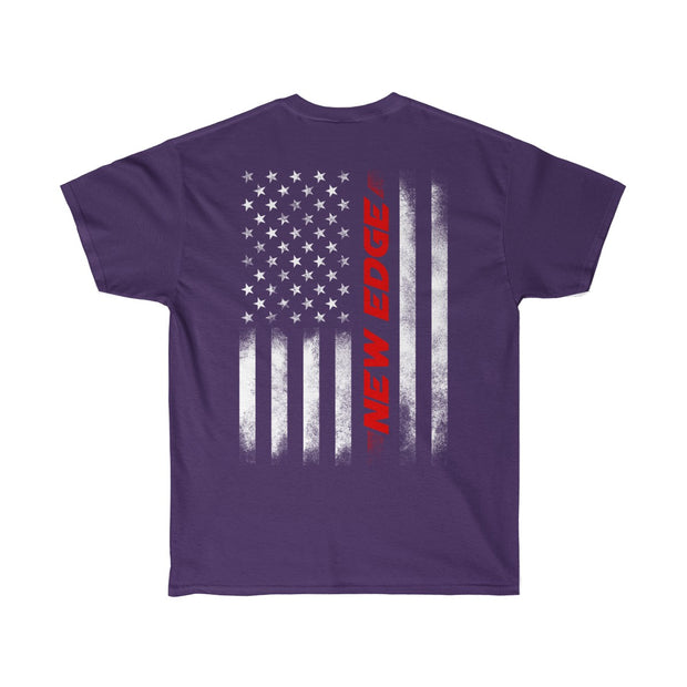 American Flag New Edge Tee (Red) - 5ohNation