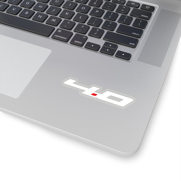 4.0 Sticker (White) - 5ohNation