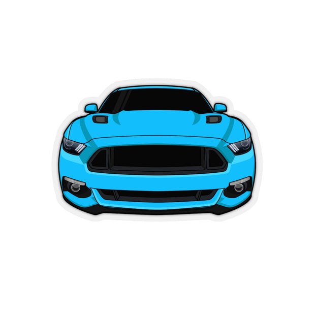 2015-17 Grabber Blue Sticker (Front) - 5ohNation
