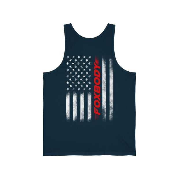 American Flag Foxbody Tank Top - 5ohNation