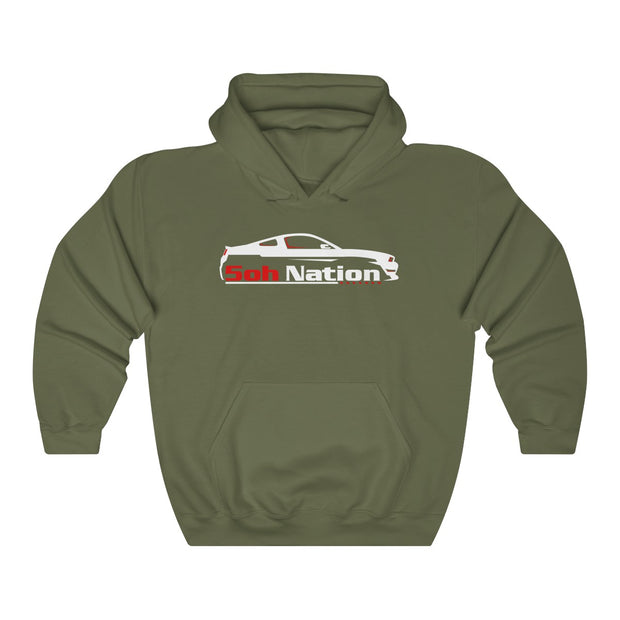 5ohNation s197 Pull Over Hoodie - 5ohNation