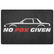 No Fox Given Notchback Entryway Mat - 5ohNation
