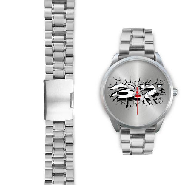 Breakthrough 3.7 Silver Watch - 5ohNation