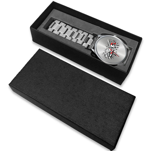 Breakthrough 2.3T Silver Watch - 5ohNation