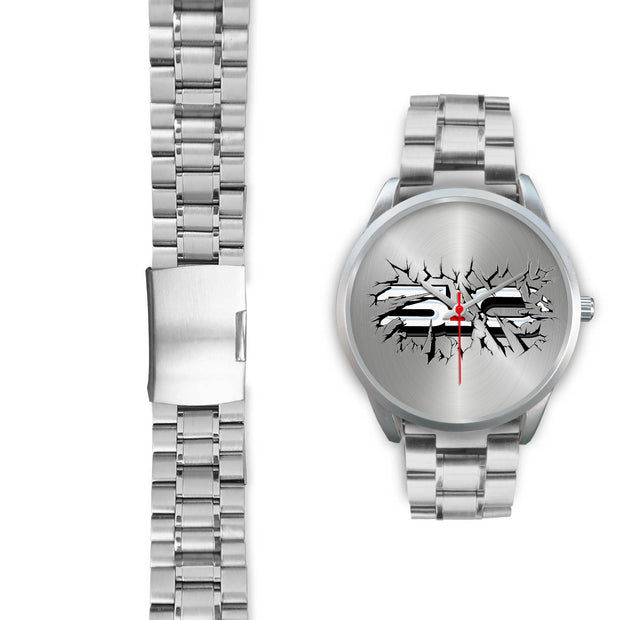 Breakthrough 5.0 Silver Watch - 5ohNation