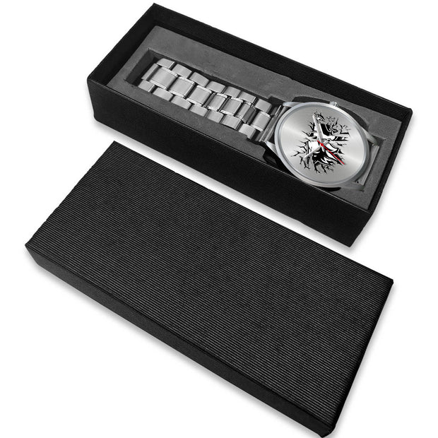 Breakthrough Coyote Silver Watch - 5ohNation