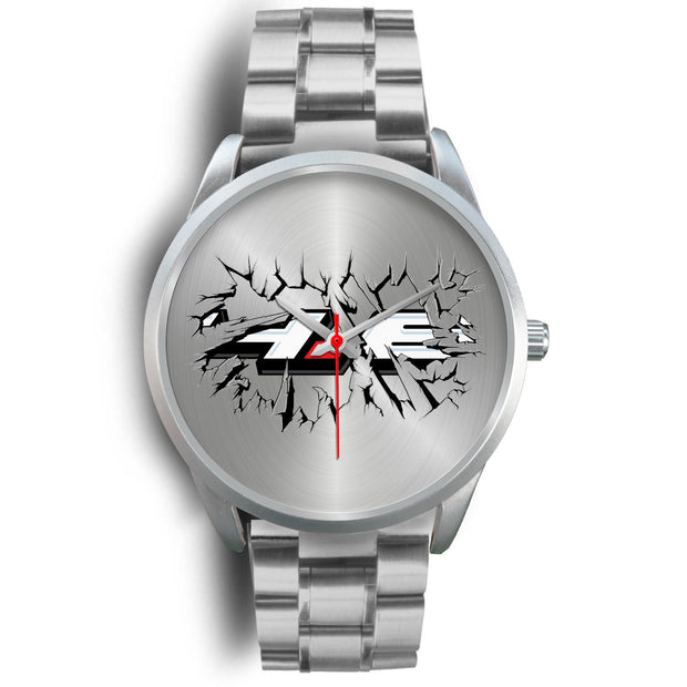 Breakthrough 4.6 Silver Watch - 5ohNation