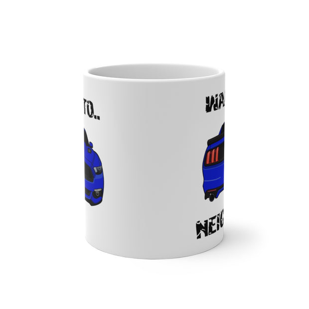 2015-17 Deep Impact/Lightning Blue Wake The Neighbors Mug (Color Changing) - 5ohNation