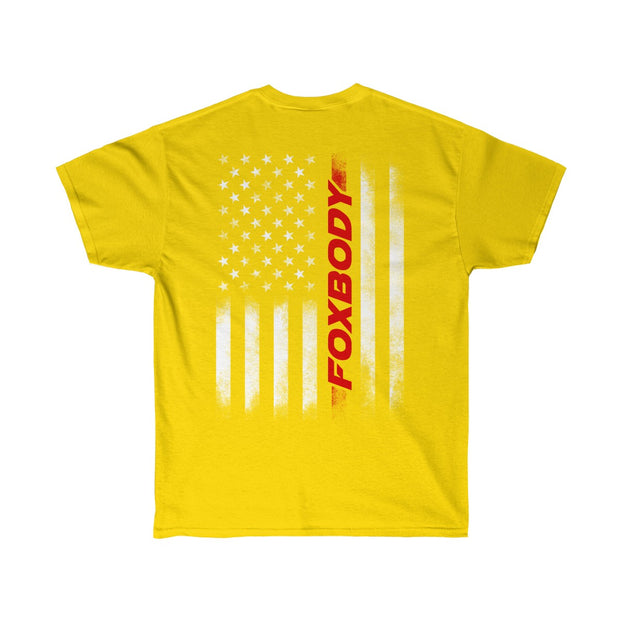 American Flag Foxbody Tee (Red) - 5ohNation