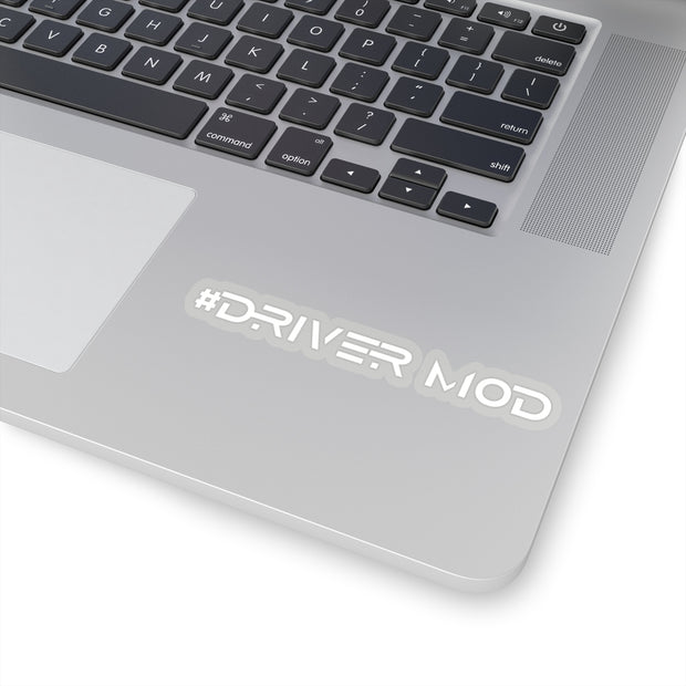 #Driver Mod Decal (White) - 5ohNation