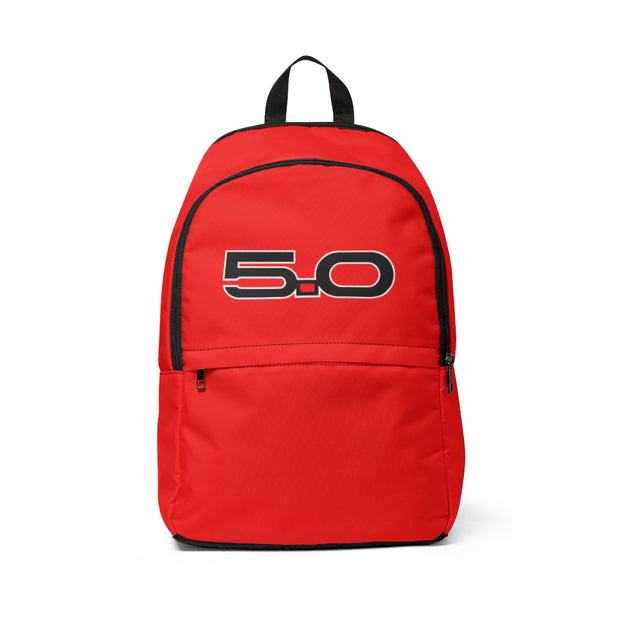 Race Red 5.0 Backpack - 5ohNation