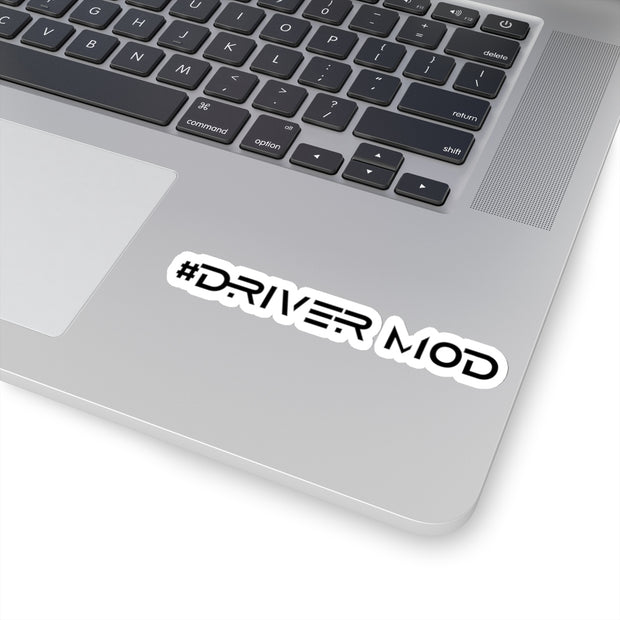 #Driver Mod Decal (Black) - 5ohNation