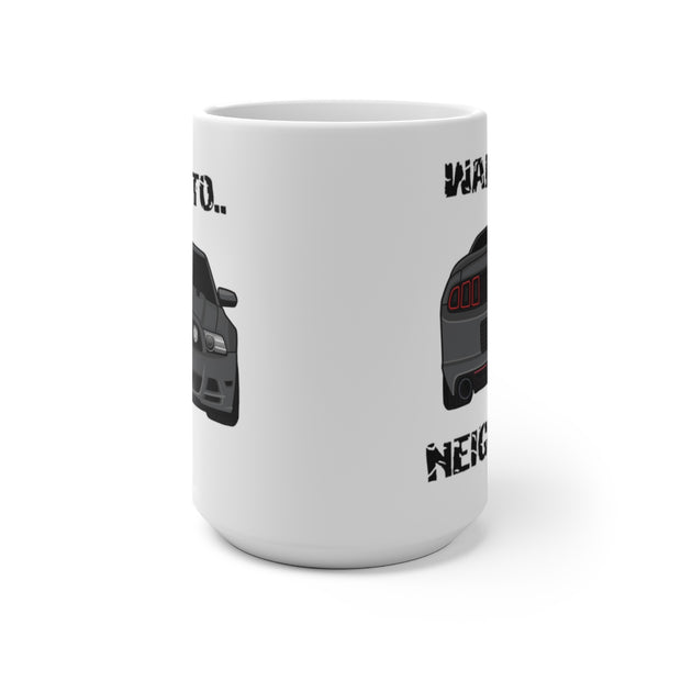 Sterling Grey Wake The Neighbors Mug (Color Changing) - 5ohNation