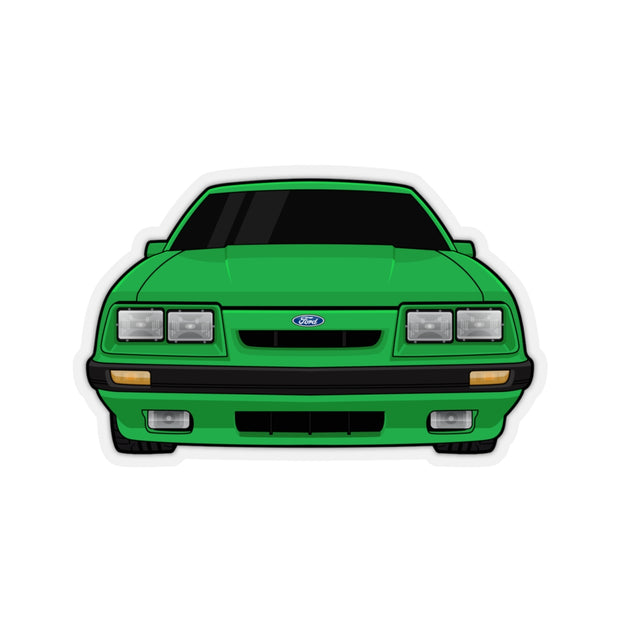 79-86 4 Eye Green Sticker (Front) - 5ohNation