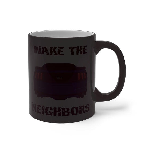 2015-17 Kona Blue Wake The Neighbors Mug (Color Changing) - 5ohNation