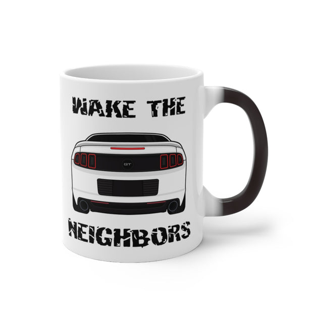Oxford White Wake The Neighbors Mug (Color Changing) - 5ohNation