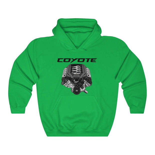 s197 Coyote Pull Over Hoodie - 5ohNation