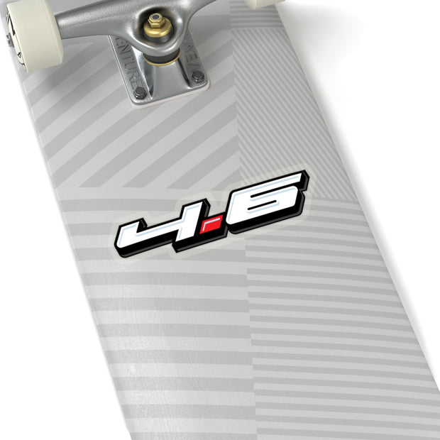4.6 Sticker 3D (White) - 5ohNation