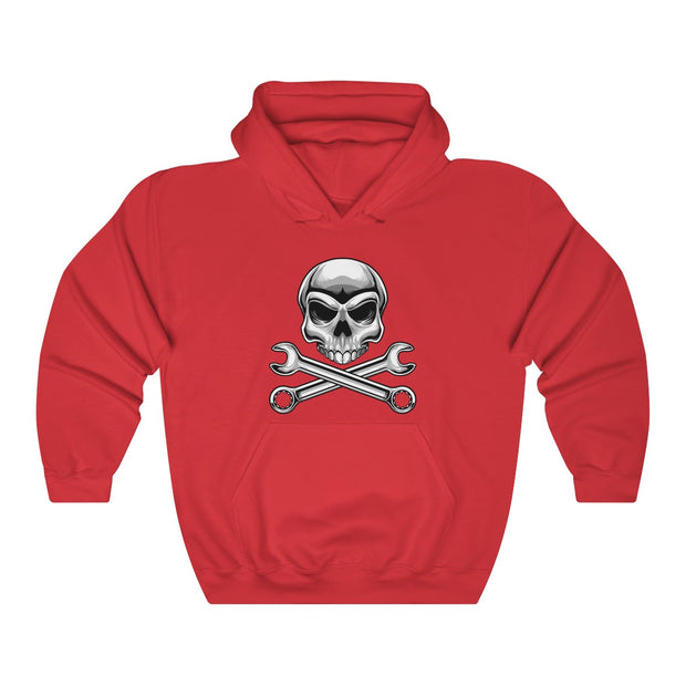 Skull N' Wrenches Pull Over Hoodie - 5ohNation