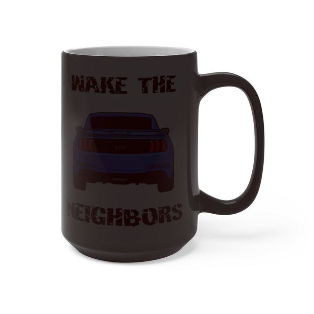 2018-19 Velocity Blue Wake The Neighbors Mug (Color Changing) - 5ohNation