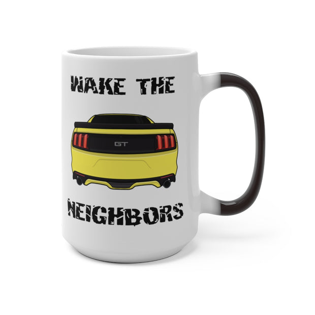 2015-17 Triple Yellow Wake The Neighbors Mug (Color Changing) - 5ohNation