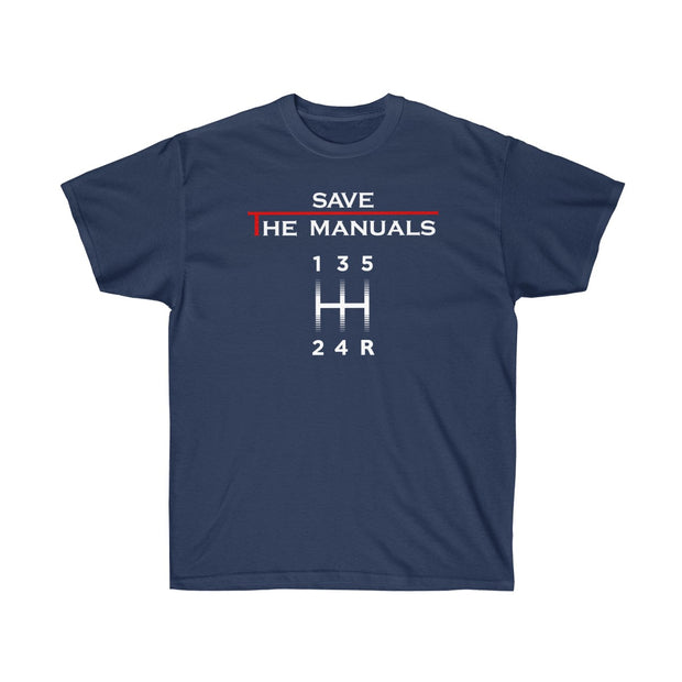 Save The Manuals Tee (Front Design) - 5ohNation