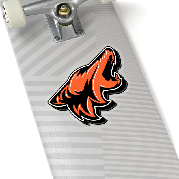 Competition Orange Coyote Sticker 3D - 5ohNation