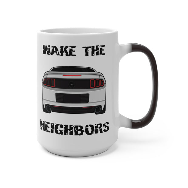 Ingot Silver Wake The Neighbors Mug (Color Changing) - 5ohNation