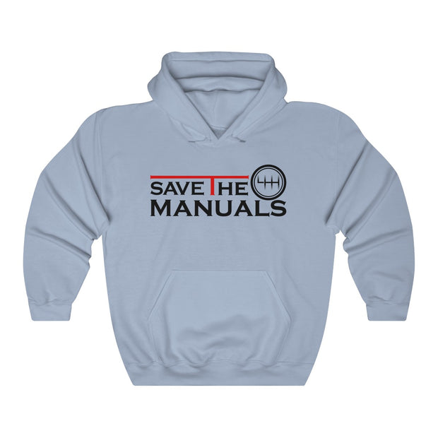 Save The Manuals Pull Over Hoodie - 5ohNation