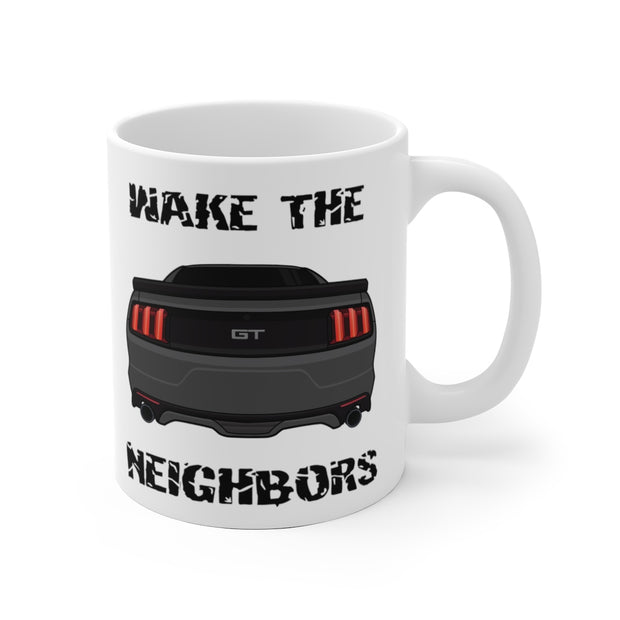 2015-17 Magnetic Metallic Wake The Neighbors Mug (Original) - 5ohNation
