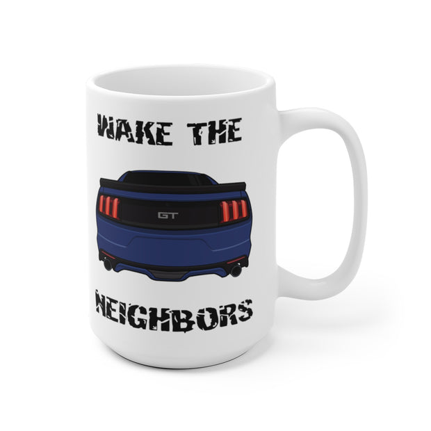 2015-17 Kona Blue Wake The Neighbors Mug (Original) - 5ohNation