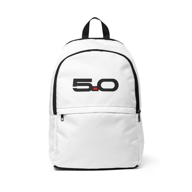 Oxford White 5.0 Backpack - 5ohNation