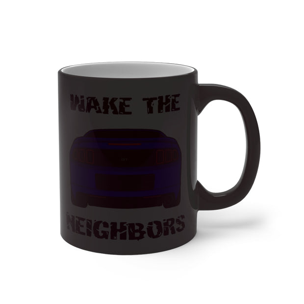 Deep Impact Blue Wake The Neighbors Mug (Color Changing) - 5ohNation