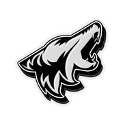 Ingot Silver Coyote Sticker 3D - 5ohNation