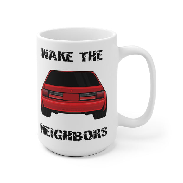 4 Eyed Red Fox Wake The Neighbors Mug (Original) - 5ohNation