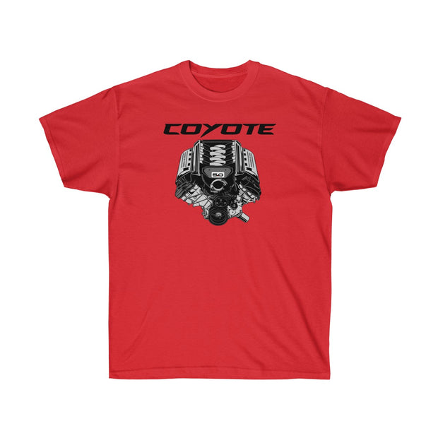 s550 Coyote Engine Tee (Front Design) - 5ohNation