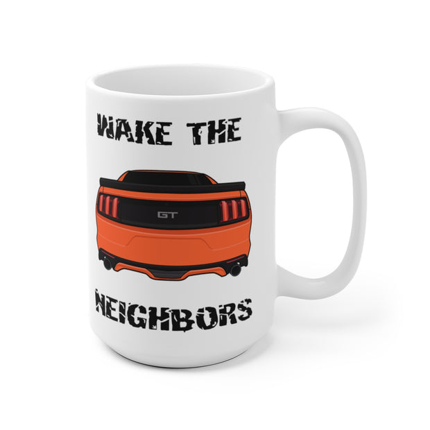 2015-17 Competition Orange Wake The Neighbors Mug (Original) - 5ohNation