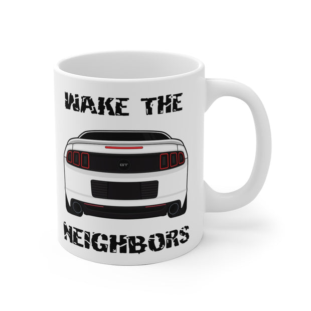 Wake The Neighbors Oxford White Mug (Original) - 5ohNation