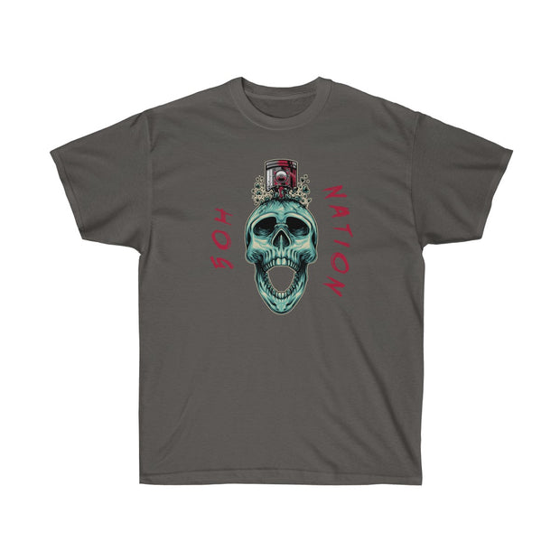5ohNation Pistion Skull Tee (Front Design) - 5ohNation