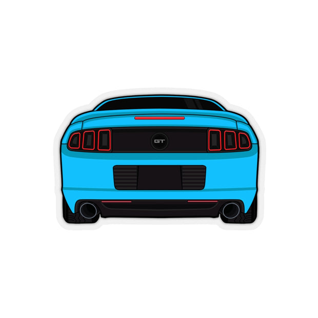 2013/14 Grabber Blue Sticker (Rear) - 5ohNation