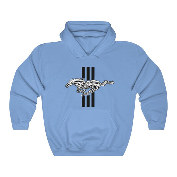 Mechanical Running Pony Pull Over Hoodie - 5ohNation