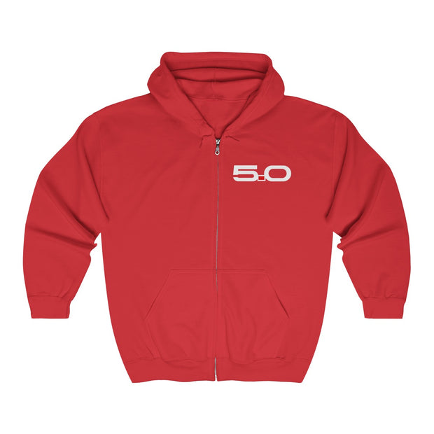5.0 Zip-Up Hoodie - 5ohNation